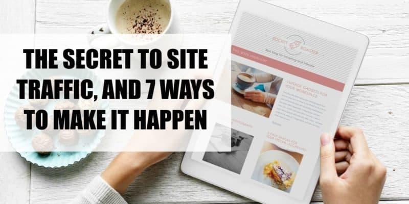 7 ways site traffic